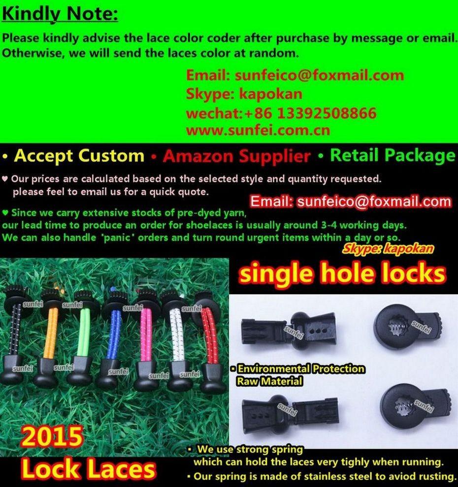 2015 Edition Lock Laces ( single hole locks )_OK