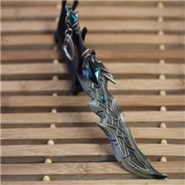 17cm-Fashion-Jewelry-League-Of-Legend-Weapon-lol-Keychain-Tryndamere-Keychain-Weapon-Model-Keychain