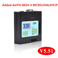 Top Quality Fully working V5.51 Newest XPROG XPROG-M 5.51 Box ECU Electronic Programmer popular chip programming