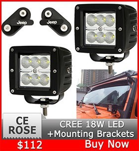 CREE 18W LED light bar