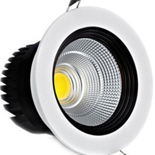 Dimmable 5W 7W 9W 12W COB LED downlights