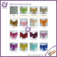 1sparkle organza sashes