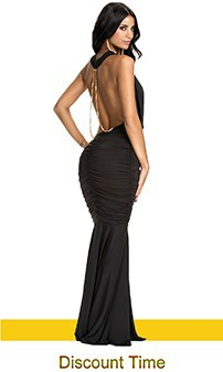 9336 Backless Dress Long Party Dress