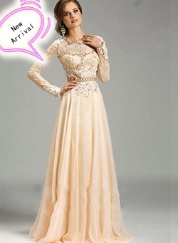 A-Line-Long-Evening-Dresses-2015-Fast-Shipping-Sweep-Train-new-arrival-formal-dresses-Long-Sleeve_conew1