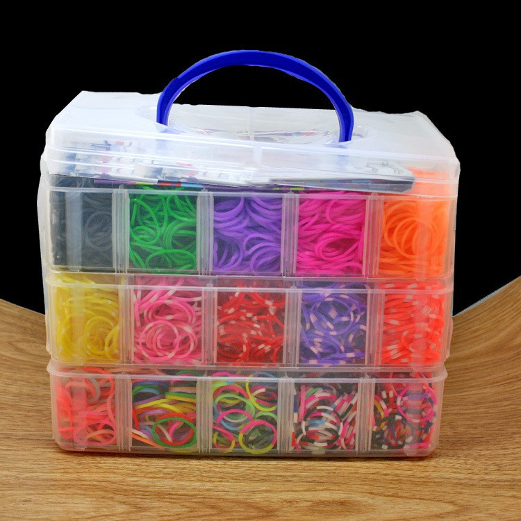 Hot-Sale-5000-pcs-high-quality-rubber-crazy-and-fun-kids-DIY-bracelet-silicone-loom-bands