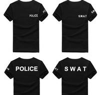 High Quality New Sport leisure SWAT Police Short Sleeve T-Shirt Men Women Tactical Outdoor t shirt L-XXXL