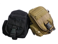 Tactical Molle Waist Bags Men's Outdoor Sport Casual Waist Pack Purse Dual-purpose Bag