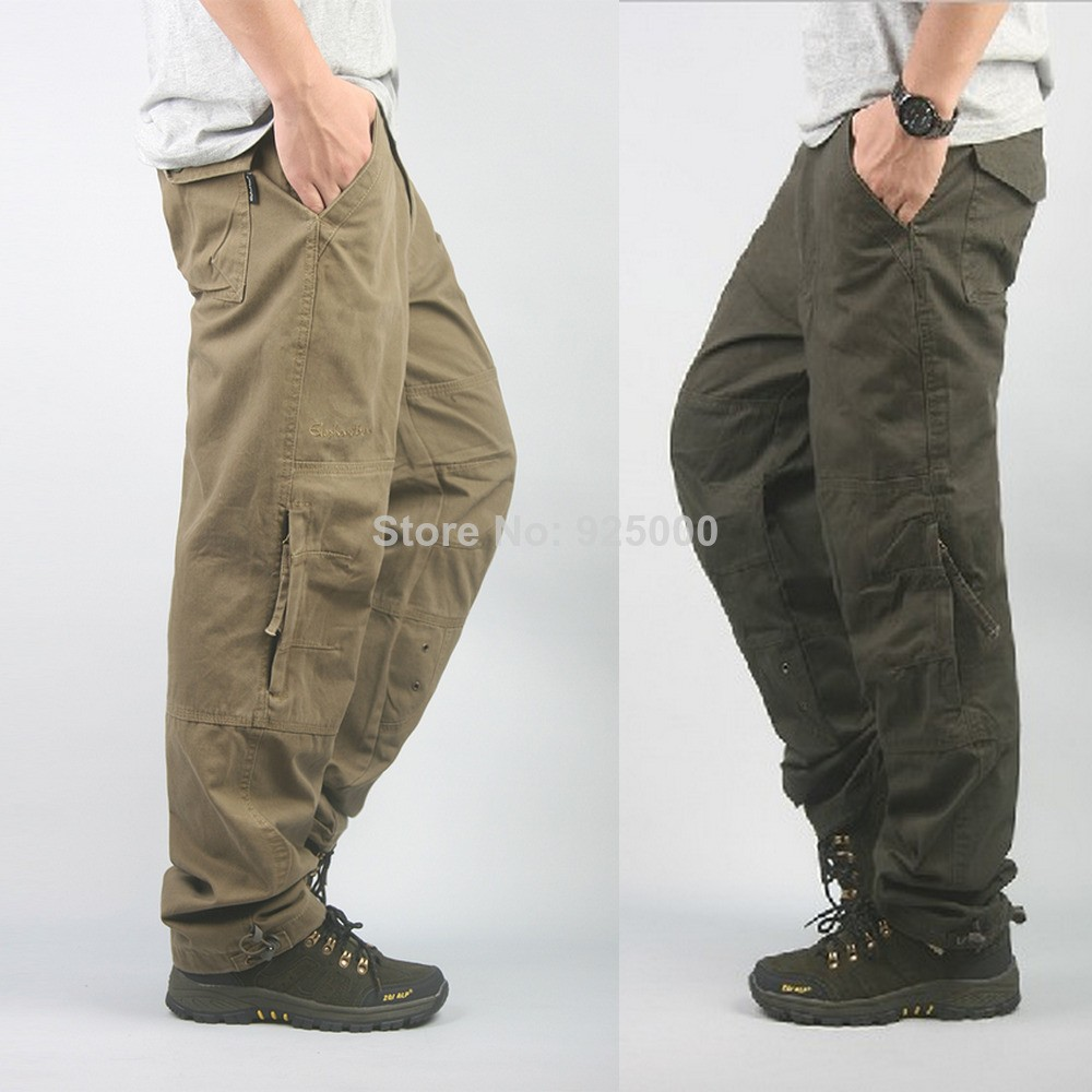 2014-fashion-men-casual-cargo-pants-overalls-high-quality-outdoor-trousers-multi-pocket-Spring-Autumn-work