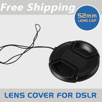 52mm 52 mm Snap on Lens cap for Canon Nikon Sony Pentax