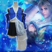 Final FANTASY X 2 Yuna cosplay costume