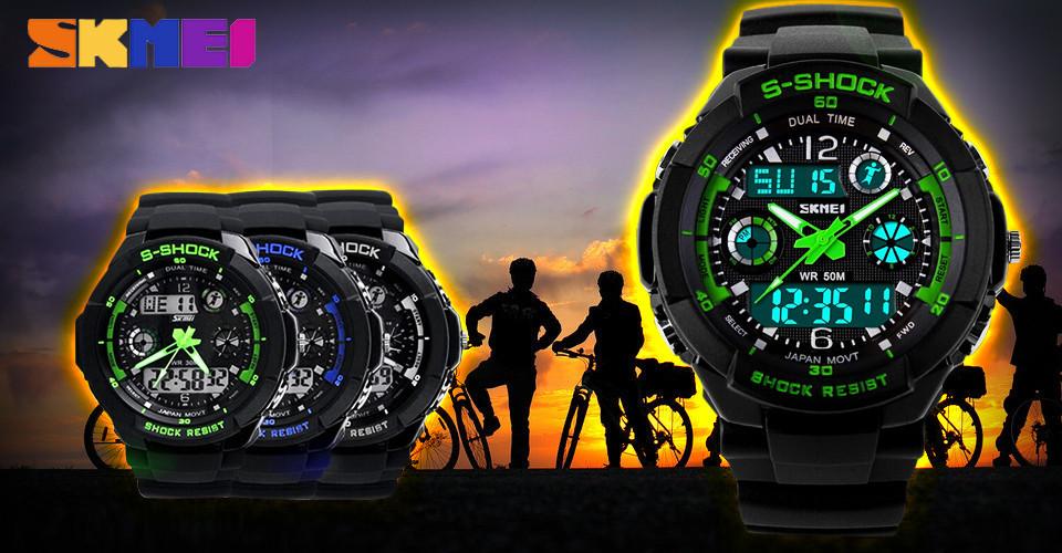 Купить спортивные часы водонепроницаемые недорого