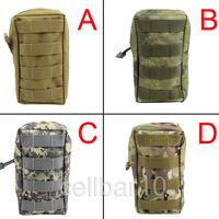 5 COLOR Outdoor Molle System Bag Canvas Sundries Bag Small Handbag Outdoor Molle Pouch