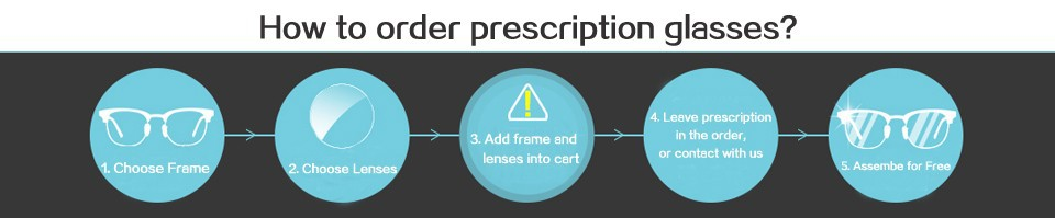 how to order glasses