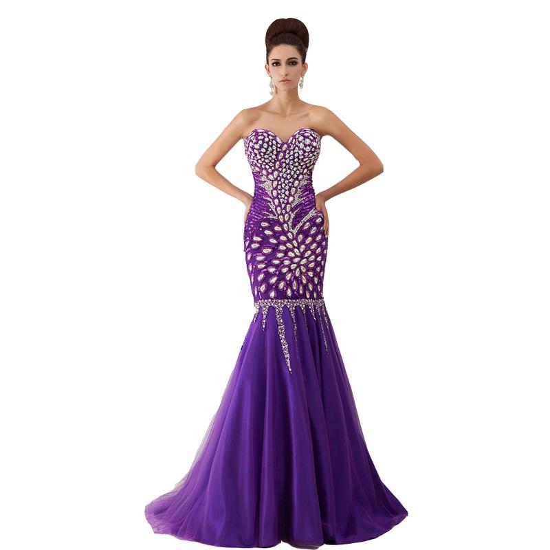 2015-Vestido-De-Festa-Shining-AB-Crystal-Long-Mermaid-Evening-Dresses-Sweetheart-Purple-Champagne-Prom-Dress