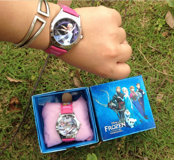 Wholesale-frozen-watch-kids-fashion-anna-elsa-watch-gift-quartz-cartoon-Jelly-Candy-led-with-box