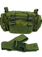 Tactical Sport Bags SWAT Molle Utility Hunting Waist Pouch Bag Pack OD green free ship