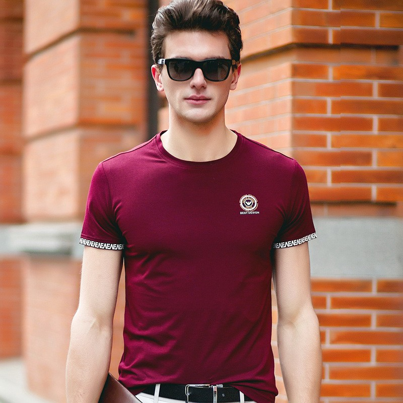 new-arrival-100-cotton-Mens-t-shirts-fashion-2016-O-neck-casual-short-sleeve-slim-t