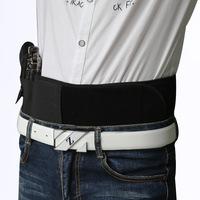Tactical Concealed Gun Belt Outdoor Field Equiment Holster Band Waist Pouch Belt Airsoft Waist Band