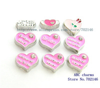 New Style 20pcs  wedding style Floating Locket Charms Fit Living Memory Glass Floating Locket