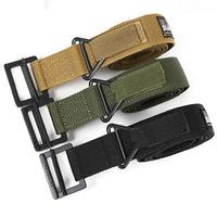 Military Equipment Blackhawk Tactical Belt Buckle Men Combat Outdoor Nylon Military Belt Hunt lucci belts for women