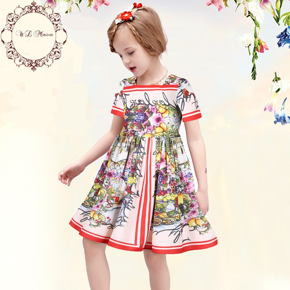 Wlmonsoon-Girl-Dress-2016-Summer-Princess-Dress-Girl-Clothes-Floral-Print-Girl-Party-Dress-Children-Clothing