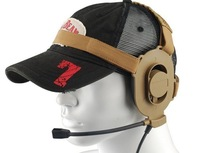 Hot sale Airsoft Headset! Bowman Elite II Tactical Headset (Z-027) free ship