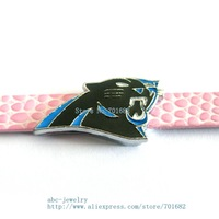 Multiple options! SL325 Internal Dia. 8mm sport team slide Charms Jewelry Finding fit 8mm wristband pet collar key chain