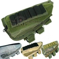 Molle Tactical Accessory Kit \ parts pendant bag Airsoft Shotgun Rifle Ammo Pouch Cheek Pad