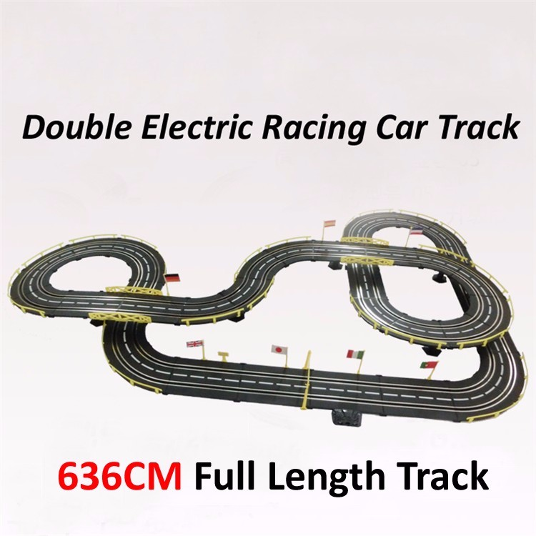 Electric rail car track
