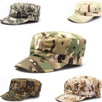 High Quality Outdoor cap Men sunscreen soldier cap camouflage military Mystery camouflage cap fishing cap