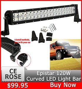 120W Curved LED Light Bar2