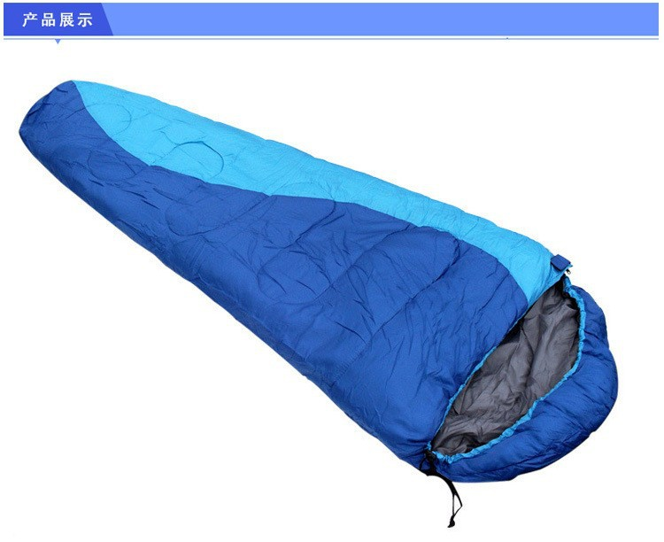 2014-Sale-Seconds-Kill-Splicing-Single-Sleeping-Bag-Cotton-Terylene-Adult-Mummy-style-Sleeping-Bag-Outdoor