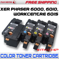 Compatible XER Phaser 6000, 6010, WorkCentre 6015 Color Toner Cartridge For 106R01627/1628/1629/ 1630, 106R01631/1632/1633/ 1634