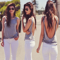 New Women Deep V Vest Sexy Slim Halter Camisole Summer Sleeveless Shirt feminino Cami Cotton Tank Tops Plus