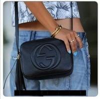 New spring 2014 FASHION women shoulder Messenger black/white/red Tassel letter Pu Bags lacegirl's shop