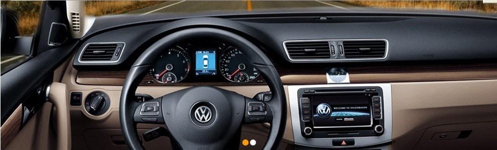 vw in car