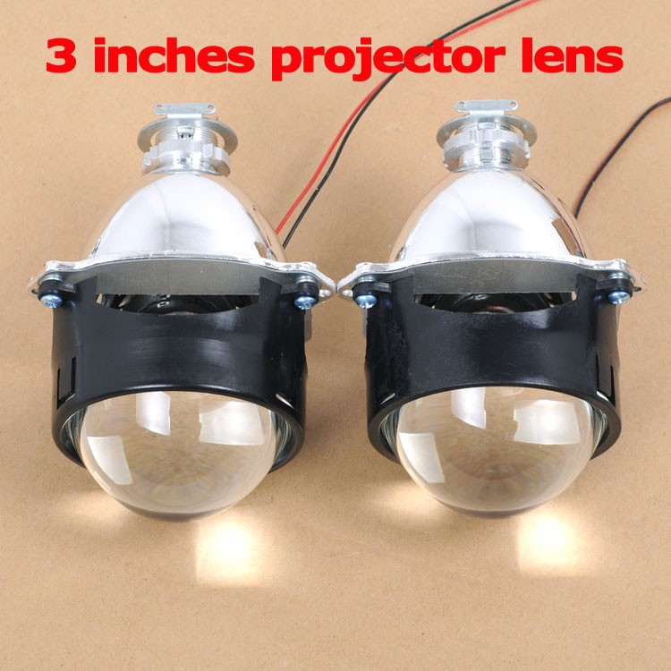 3 Inches WST Bi-xenon Projector Lens H4 H7 Easy Install