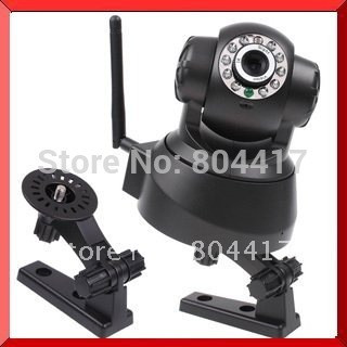 2015-New-Arrive-Black-Wireless-IP-Network-Pan-Tilt-Security-WIFI-Audio-CCTV-10-IR-Webcam