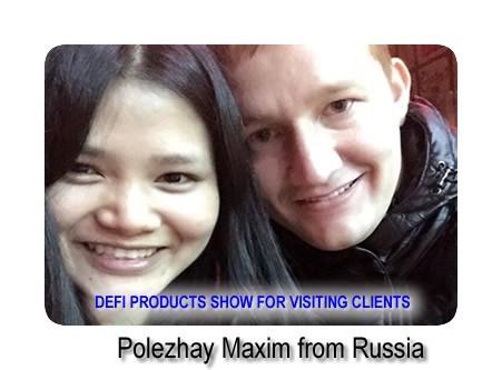 Polezhay Maxim from Russia