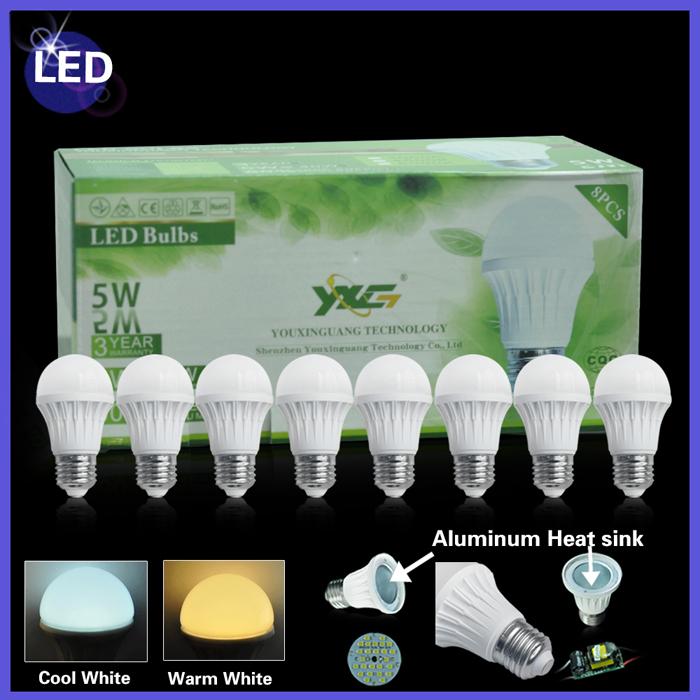 led bulbs 5w
