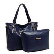 2015-New-Women-Handbag-Genuine-Leather-Bag-Alligator-Bolsas-Shoulder-Bag-Two-piece-Women-Messenger-Bags