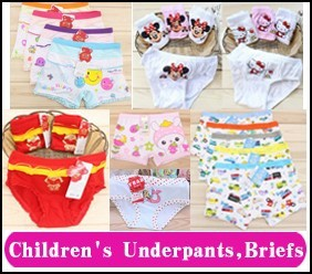 5 children's underpants,briefs