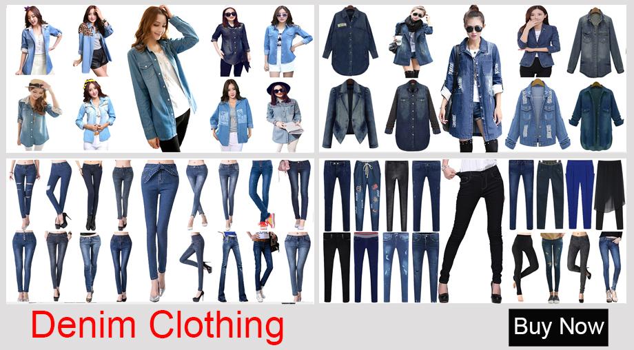 Denim Clothing