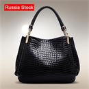 Hot-Women-Handbag-2015-New-Fashion-Women-Messenger-Bag-Crocodile-Pattern-PU-Leather-Shoulder-Bag-Vintage