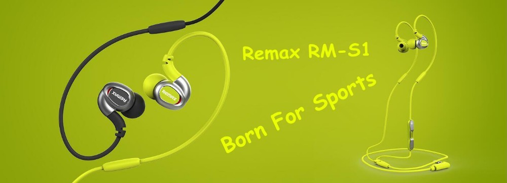 REMAX RM-S1 BANNER