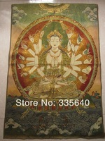 Wholesale Direct tapestry paintings fine embroidery embroidery painting Tibet Fo zu tangka A03