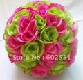 25cm-mix-plum-green-wedding-kissing-ball-bride-flowers-decorations-artificial-rose-flower-ball-