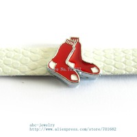 Multiple options! sport team SL339 Internal Dia.8mm slide Charms Jewelry Finding fit 8mm wristband pet collar key chain