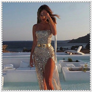 00001_2015-real-new-arrival-natural-chiffon-two-colors-plested-maxi-sequin-bustier-dress-long-fashion-sexy