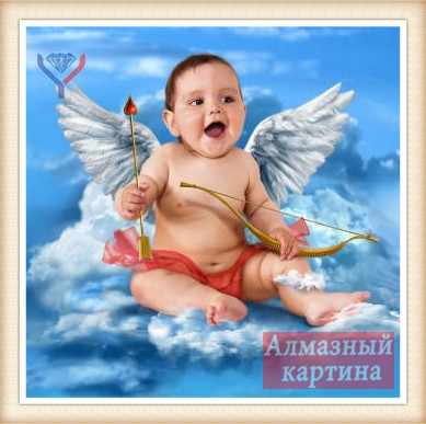 diamond painting 106 cupid B